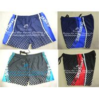 Men's swimming pants for fixing plate hot pattern