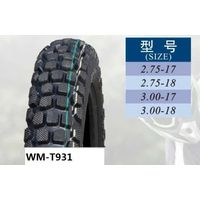 Motorcycle tire(WM-T931),tire for motorcycle,off-road tire 3.00-17 thumbnail image