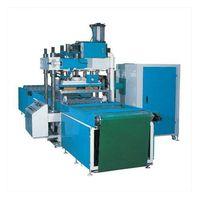 High frequency box creasing machine