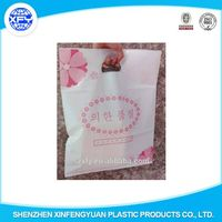 HDPE/LDPE Die Cut Handle Shopping Plastic Packing Bag