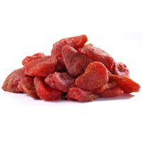 Dehydrated strawberry