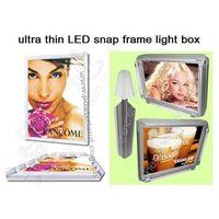ultra thin LED snap frame light box