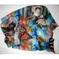 100% Cashmere scarves with digital prints
