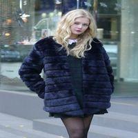Luxe Glam Faux Mink Fur Coat thumbnail image