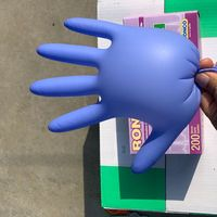 Gloves Protective Safety Hand Nitrile Disposable Glove