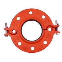 ductile iron pipe fitting pipe flange split flange thumbnail image