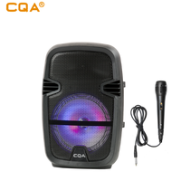 """CQA cheap 8"""" inch trolley speaker party speaker for South America/USA"""