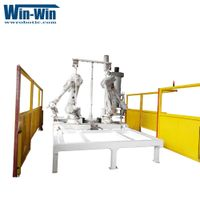 Automotive Interior parts Industry Waterjet Robotic Cutting Workstation