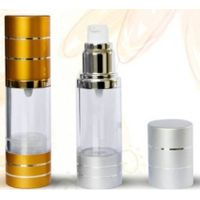 30ml 50ml aluminum cap plastic material airless perfume bottle use for lotion thumbnail image