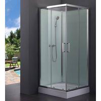 Simple shower cabin