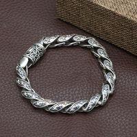 S925 Silver Men's Jewelry Bracelet B5285