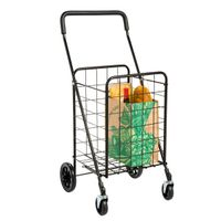 Utility Shopping Cart with Rolling Swivel Wheels thumbnail image