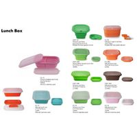 Food Grade Collapsible Series of Silicone Lunch Box thumbnail image