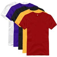 100% Egyptian Cotton Customized Plain T-shirts