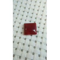 Natural Square Gems, Ox Blood