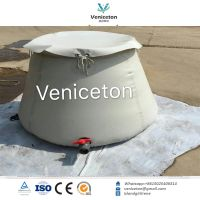 Veniceton Collapsible onion shape rainwater storage tank