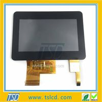 TSD 4.3 inch TFT LCD display module 480272 with touch screen