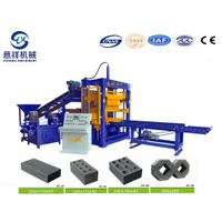 QT4-15 standard bricks hollow block making machine