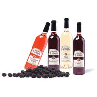 Rose, White, Red Alcoholic and Non - Alcoholic Wine
