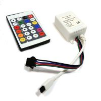 12V 24 Key Wireless led IR Remote Controller For 3528 5050 RGB LED Strip Light thumbnail image