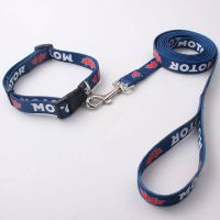 2018 China factory wholesale customized dog collar and leash