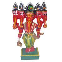 Wood Lord Ganesha Idol thumbnail image