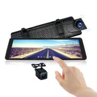 """9.88"""" 1080P DVR Car Rearview Camera with Dash Mirror Touch Screen Monitor thumbnail image"""
