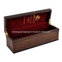Luxury Vintage Wine Wooden Tin Set Box