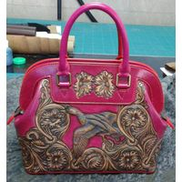 Latest Ancient Classic Style Fashionable 100% handcraft Ladies Tote Bag - SZCM004