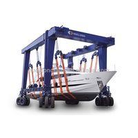 Nucleon 150ton boat lifting gantry crane Yacht marine travel lift gantry crane for sale