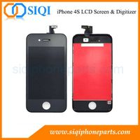 Wholesale Cheap Price For iPhone 4S Display in China (Black)