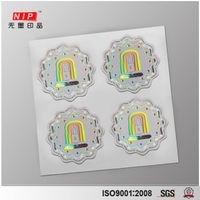 Accept Custom Order hologram security stickers with uv effect