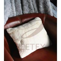 Rabbit faux fur supper soft pillow