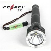 Rechargeable LED torch, high power LED flashlight Ferei 730 thumbnail image