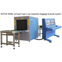 conveyor type x-ray inspection parcel scanner