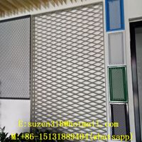 suspended aluminum expanded metal panel ceiling thumbnail image