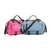 Haoyeah 2015 Fashion Female Bag Doctor bag Simple Relaxation Retro Shell Handbag Tote Bag Gym Bag Sp