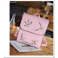 Custom Fashion Pu Women Leather Backpack