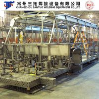 3D Modular Welding Fixutres for Bus Frame Welding
