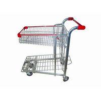 Cargo push trolley