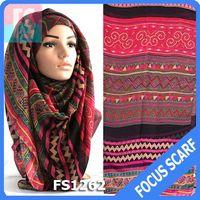 Aztec tribal women hijab scarf,hot hijab sexy muslim scarf