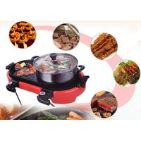 Quality kitchenware double-controlled multifunctional electric pan suit