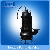 Non-clog electric high chrome centrifugal submersible sewage pump thumbnail image