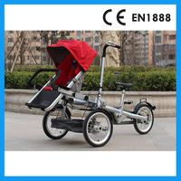 baby stroller bike mother and baby bike