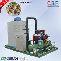 Flake ice machine for fishing
