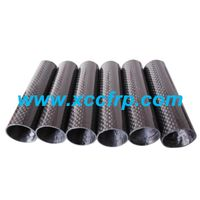 Factory Gossy surface 3k carbon fiber fabric molding products with different colors