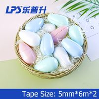 Cute Kawaii Correction Tape Egg Design Student Funny Stationery Interesting Correction Supplies Chea