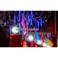 led lamp blue meteor shower carnival festival holiday supplies party decoration luminous christmas