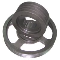Cast Iron Wheel with Sand Casting