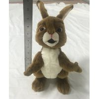 Stuffed animal vertical ear plush rabbit toy with open arm 11 inch thumbnail image